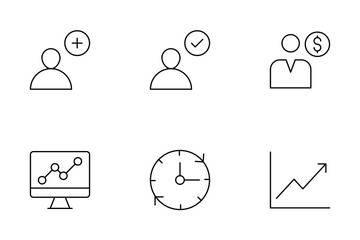 User Interface Thin Line  Icon Pack