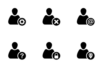 User Operations Icon Pack