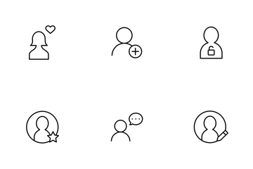 User Thinline Icon Pack