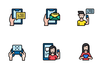 Using Technology Icon Pack