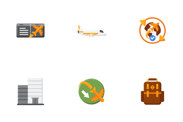 Vacation Planning Icon Pack