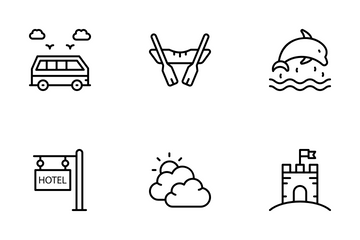 Vacations Icon Pack