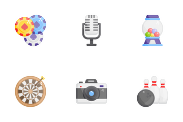 Vacations And Traveling Icon Pack