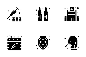 Vaccination Icon Pack