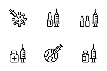 Vaccine Icon Pack