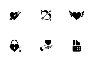 Valentine And Wedding Icon Pack