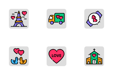 Valentine Day Icon Pack