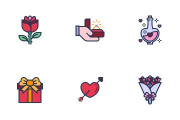Valentine Day With Love Icon Pack