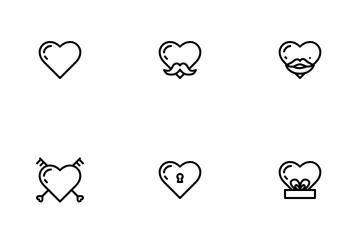 Valentine Heart Icon Pack