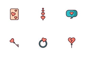 Valentine Heart Love Icon Pack