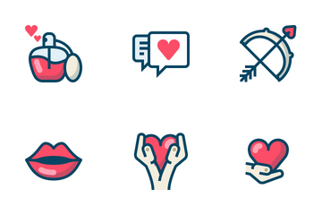 Valentine / Love / Romance Icon Pack