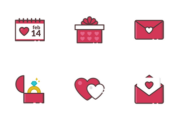 Valentine's Day Icons Icon Pack