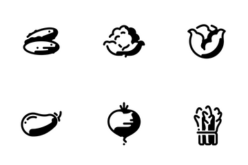 Vegetable Icon Pack