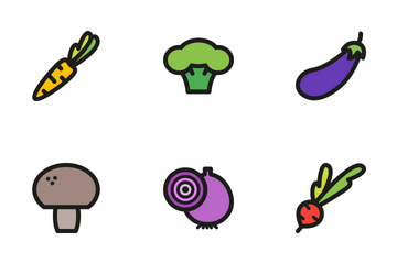 Vegetables Icon Pack