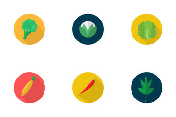 Vegetables Icon Icon Pack