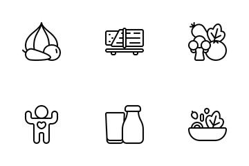 Vegetarian Icon Pack