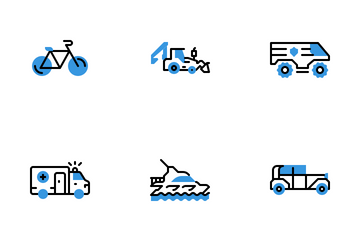Vehicle Icon Pack
