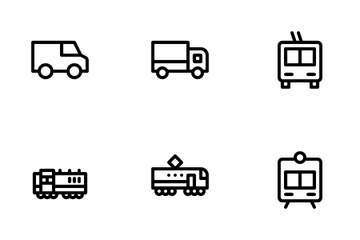 Vehicle And Parts Icon Pack