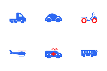 Vehicle Colour Icon Pack