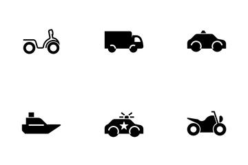 Vehicle Dark Icon Pack