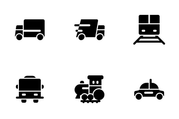 Vehicles Icon Pack