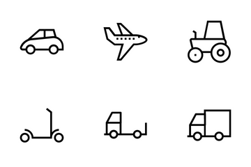Vehicles Vector Icons Icon Pack