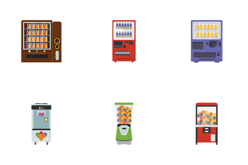 Vending Machines Icon Pack
