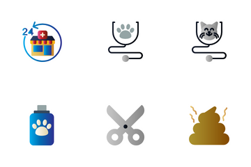 Veterinary & Pet Icon Pack