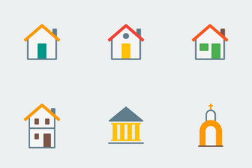 Vibrancie Building Icon Pack