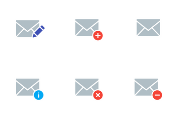 Vibrancie Email Icon Pack