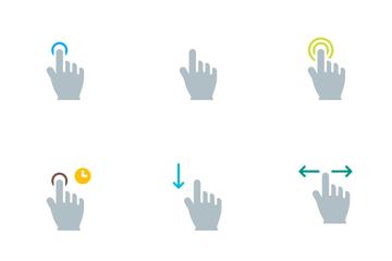Vibrancie Gesture Icon Pack