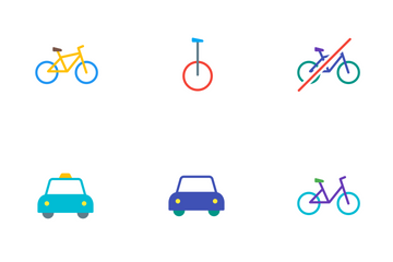 Vibrancie Transportation Icon Pack