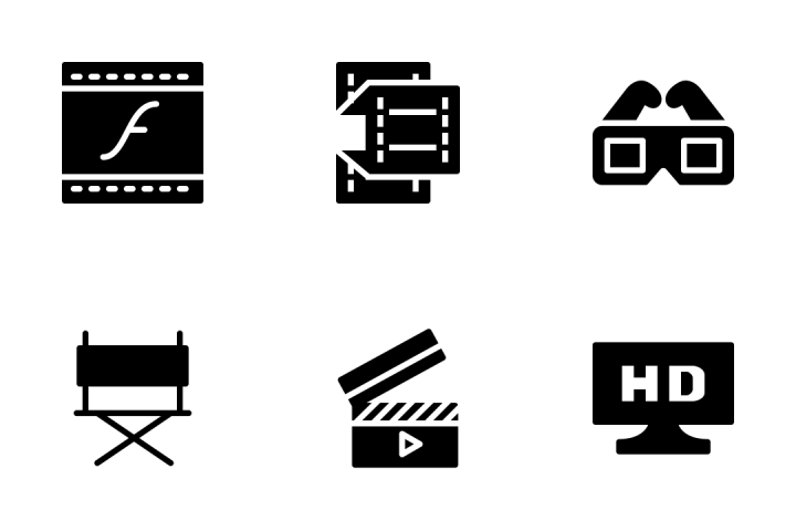 Video Icon Pack
