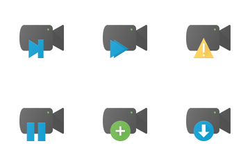 Video Actions & Files Icon Pack