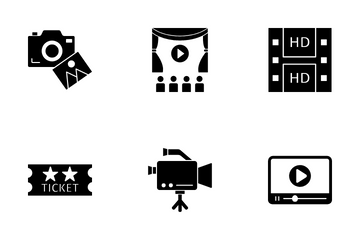 Video Equipment Icon Pack