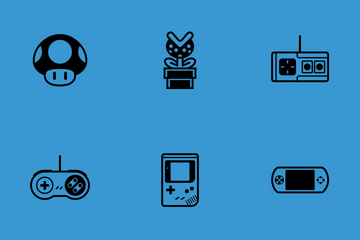 Video Game Classics Icon Pack