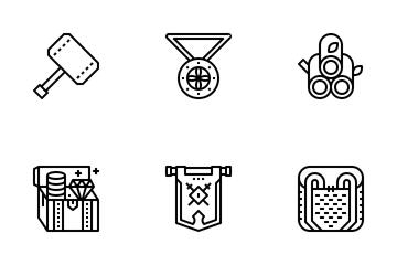 Vikings Game Icon Pack