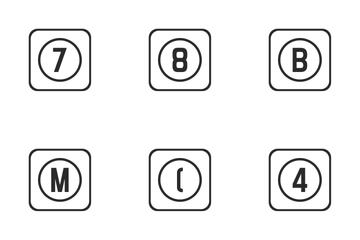 Virtual Keyboard  Icon Pack