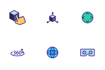 Virtual Reality Icon Pack