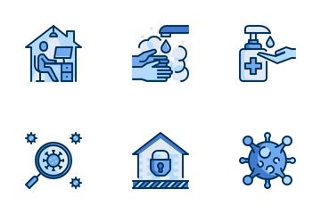 Virus Disease Prevention Icon Pack