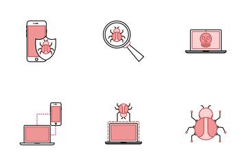 Virus & Hack Icon Pack