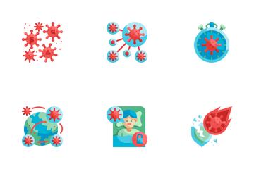 Virus Mutation Icon Pack