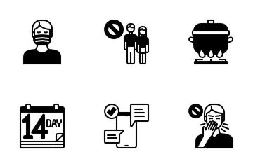 Virus Transmission Icon Pack