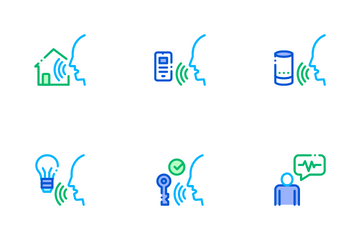 Voice Control Icon Pack