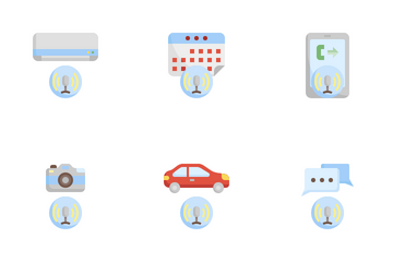 Voice User Interface Icon Pack
