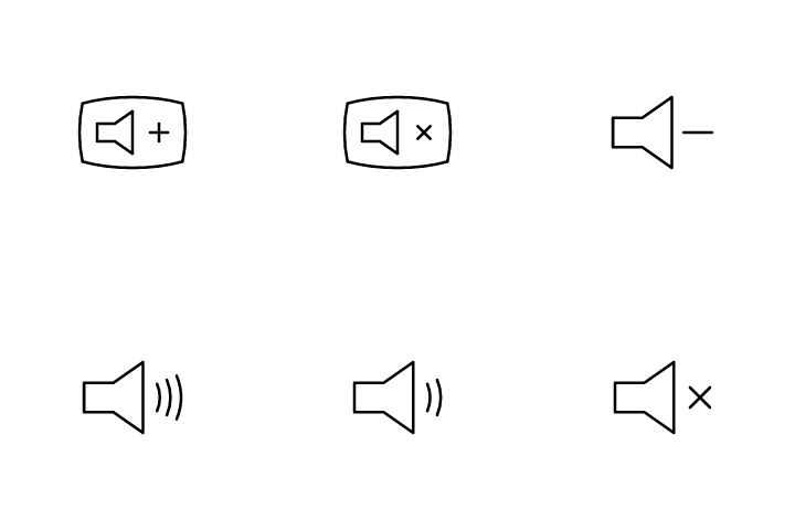 Volume  Icon Pack