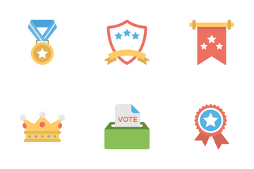 Vote And Reward  Icon Pack