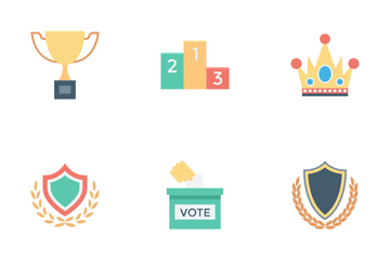 Vote And Rewards Icon Pack