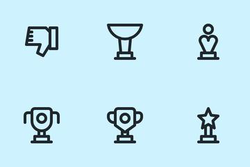 Vote & Rewards Icon Pack