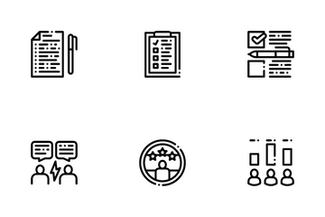 Voting And Election Icon Pack